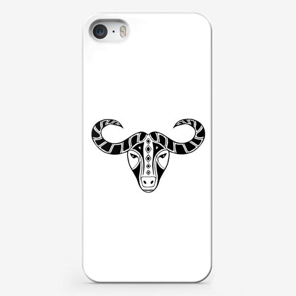 Чехол iPhone «Год быка 2021. Символ Нового года»