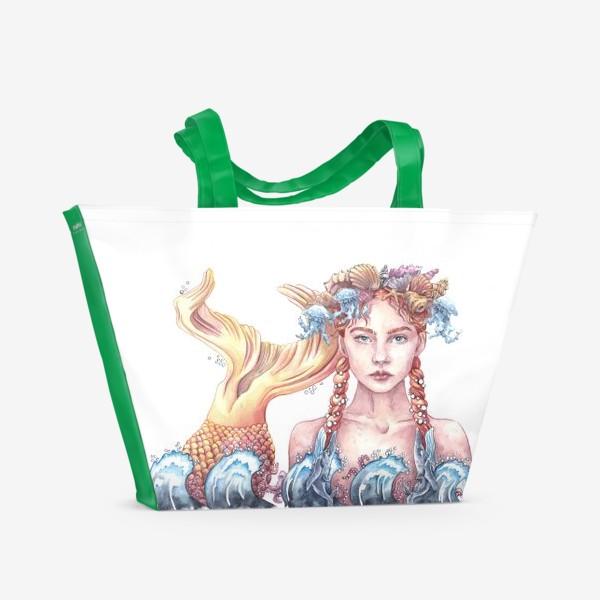 Пляжная сумка «Русалка»