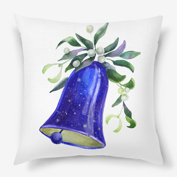 Подушка «Новогодний колокольчик»