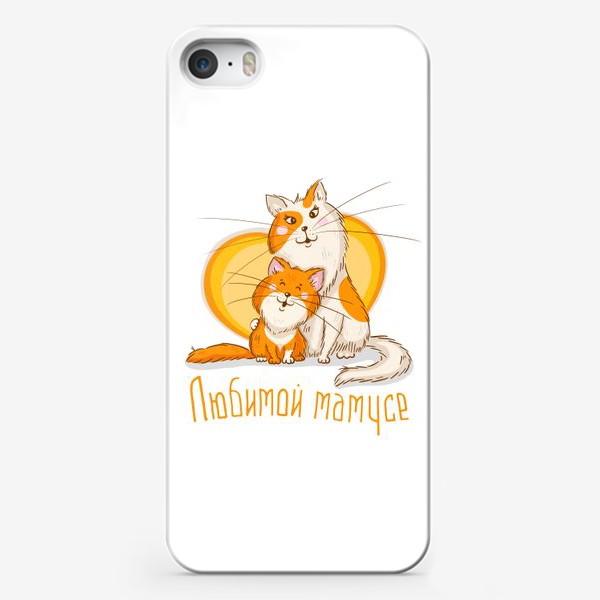 Чехол iPhone «Для любимых мамусь)»