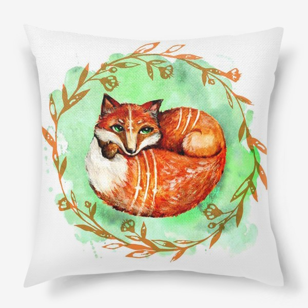 Подушка «Лиса летняя»