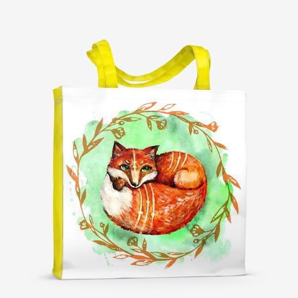 Сумка-шоппер «Лиса летняя»