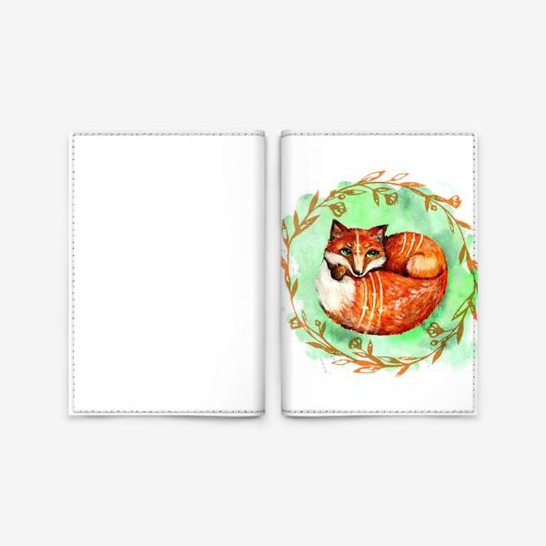 Обложка для паспорта «Лиса летняя»