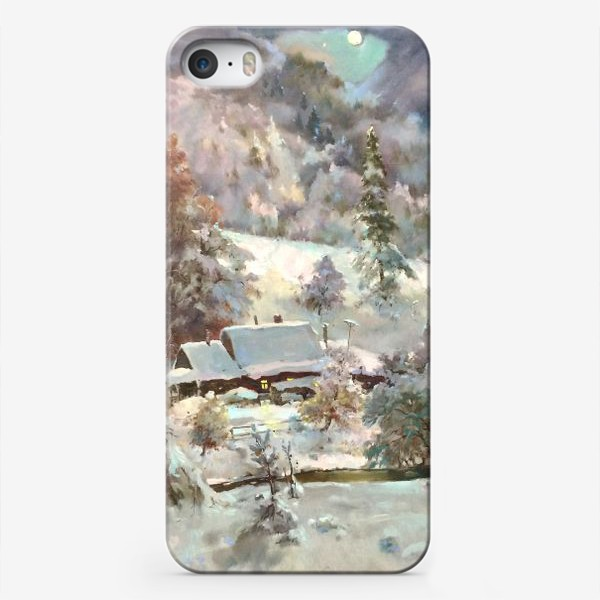 Чехол iPhone «В снежном плену»