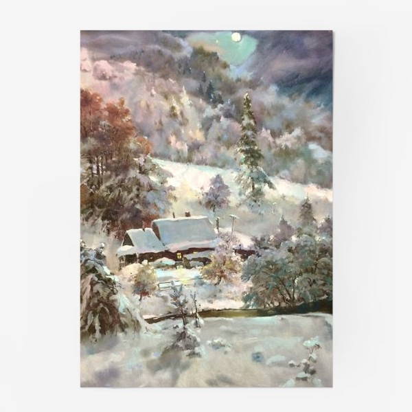 Постер «В снежном плену»