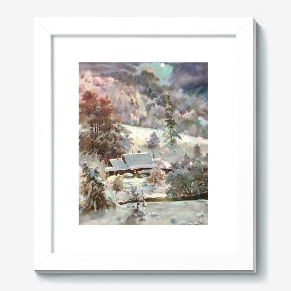 Картина «В снежном плену»