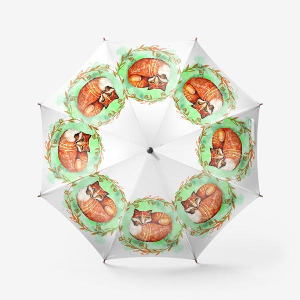 Зонт «Лиса летняя»