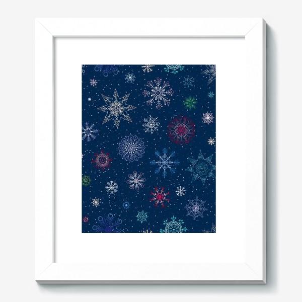 Картина «Снежинки»
