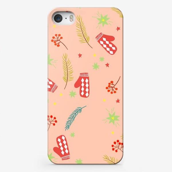 Чехол iPhone «детские  варежки»