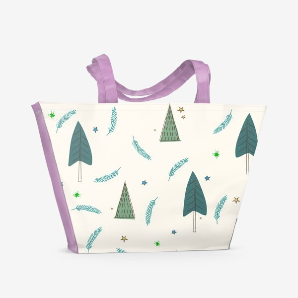 Пляжная сумка «ёлочки»