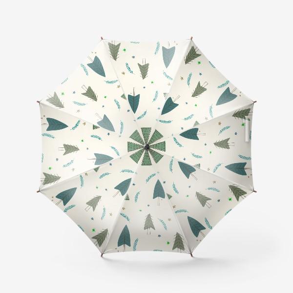Зонт «ёлочки»