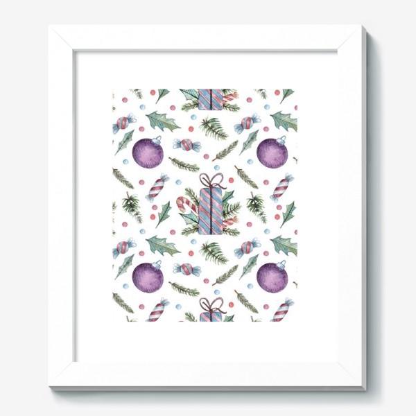 Картина «Новогодние подарки»