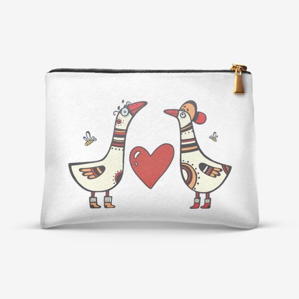 Косметичка «два веселых гуся»