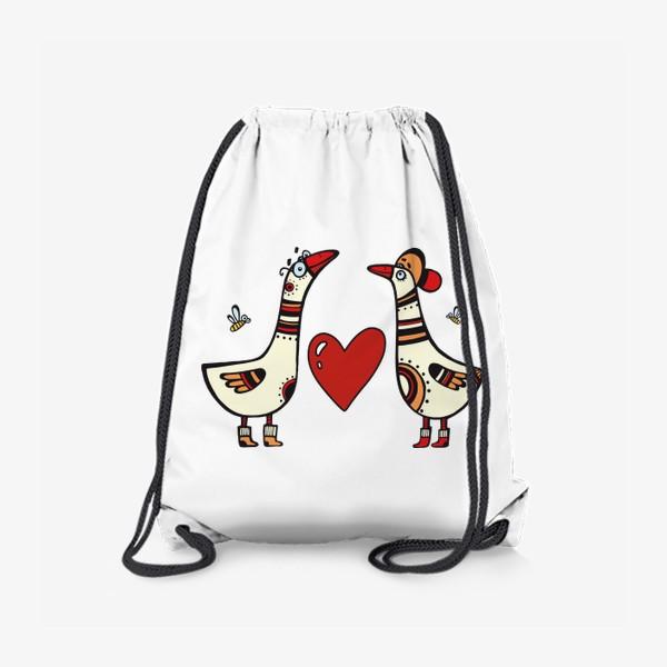 Рюкзак «два веселых гуся»