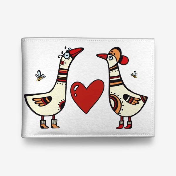 Кошелек «два веселых гуся»
