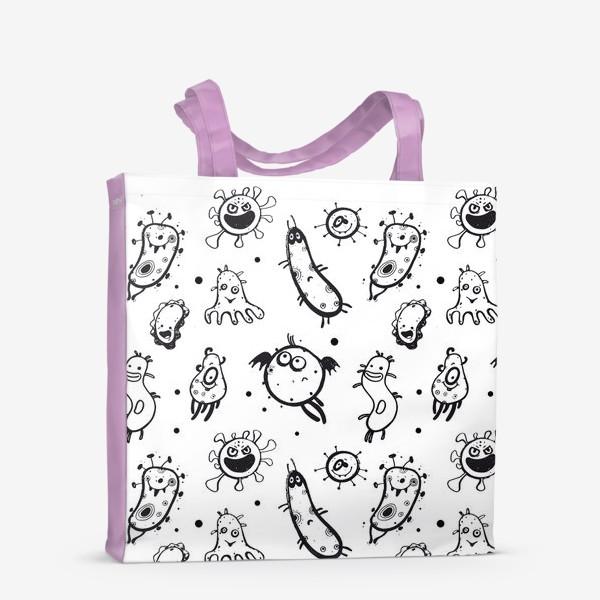 Сумка-шоппер «Маленькие вирусы»