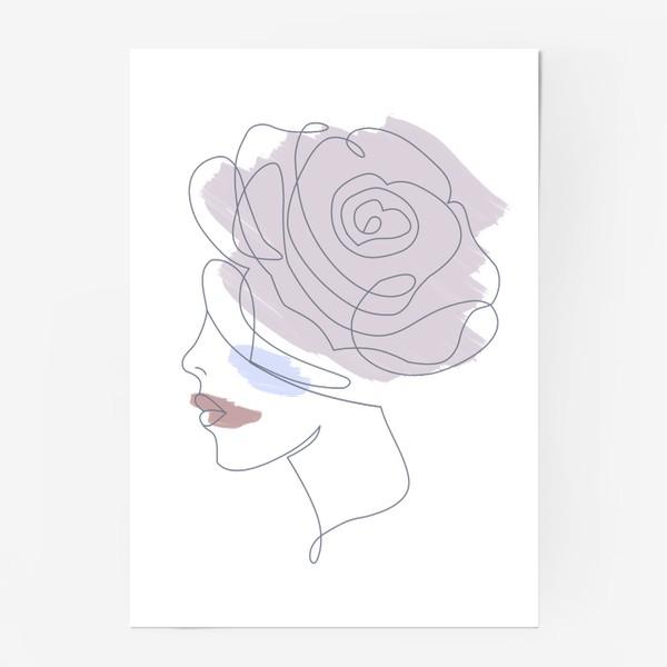 Постер «Девушка роза 2. Непрерывная линия»