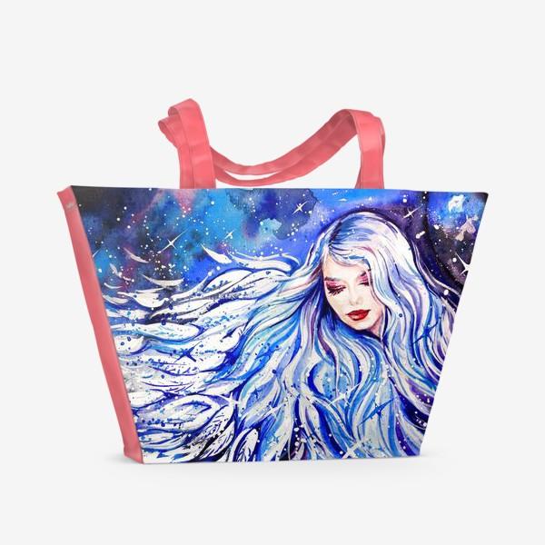 Пляжная сумка «зима»