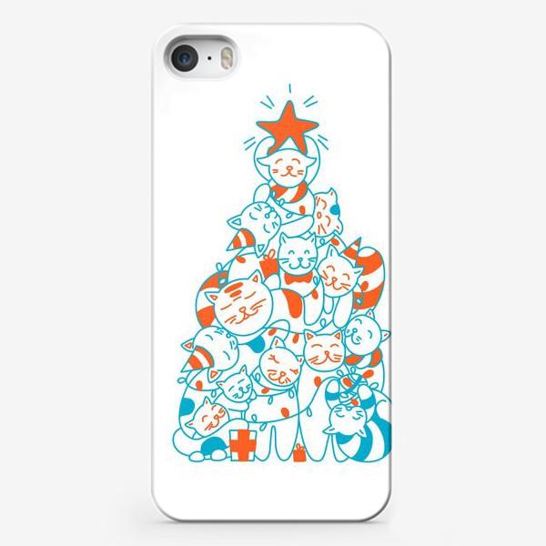 Чехол iPhone «Котоёлка»