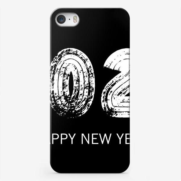 Чехол iPhone «2021 в черном»