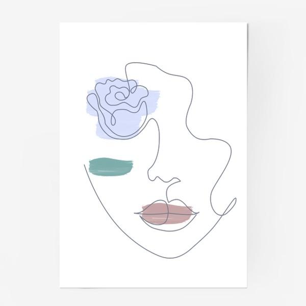 Постер «Девушка роза 3. Непрерывная линия»