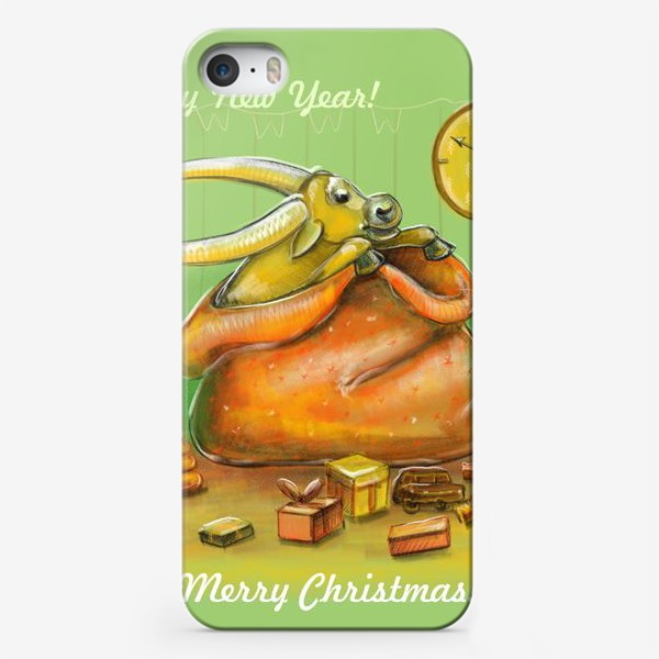 Чехол iPhone «Подарок в мешке»