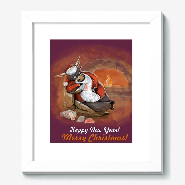 Картина «Санта Клаус отдыхает»
