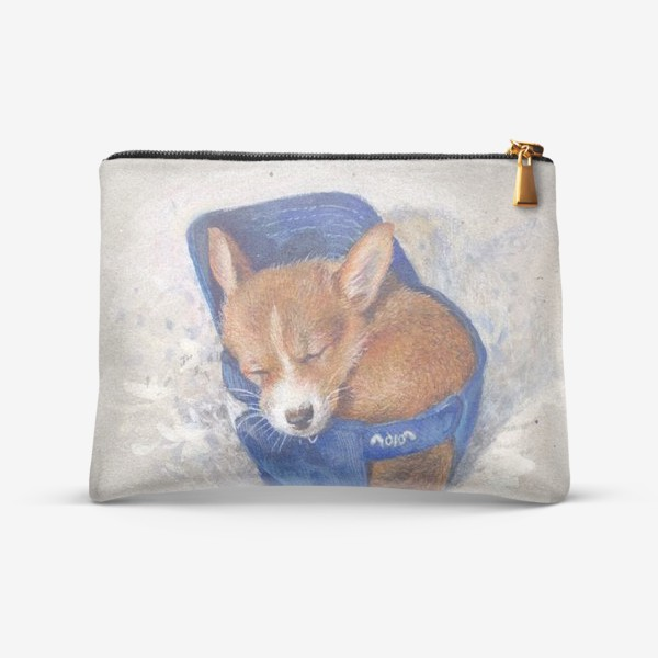 Косметичка «Малыш корги . щенок ,подарок»