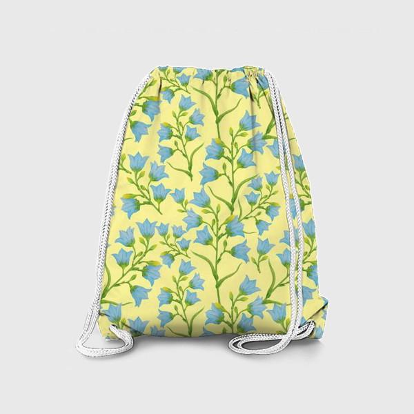 Рюкзак «Колокольчики на желтом фоне»