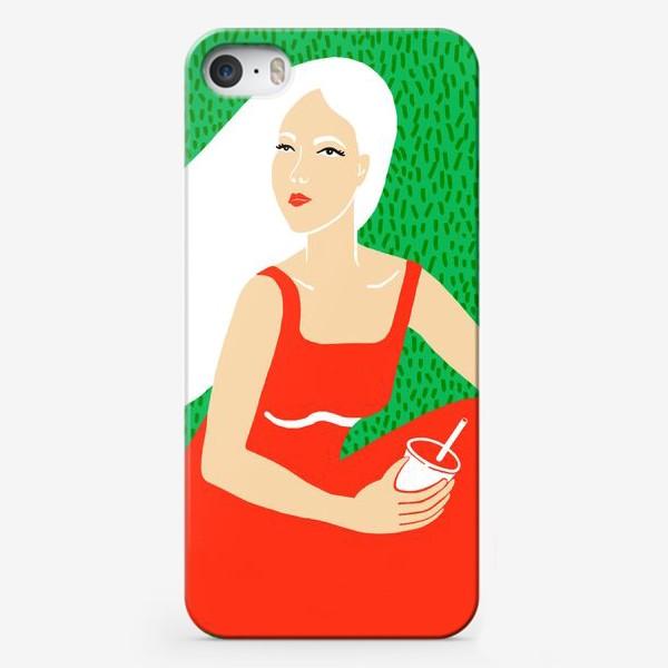Чехол iPhone «ДЕВУШКА НА ПИКНИКЕ»