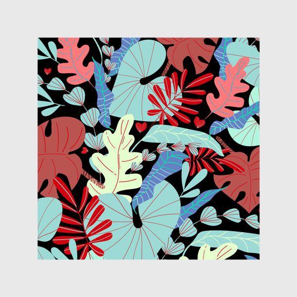 Шторы «тропические листья»
