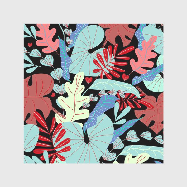 Скатерть «тропические листья»