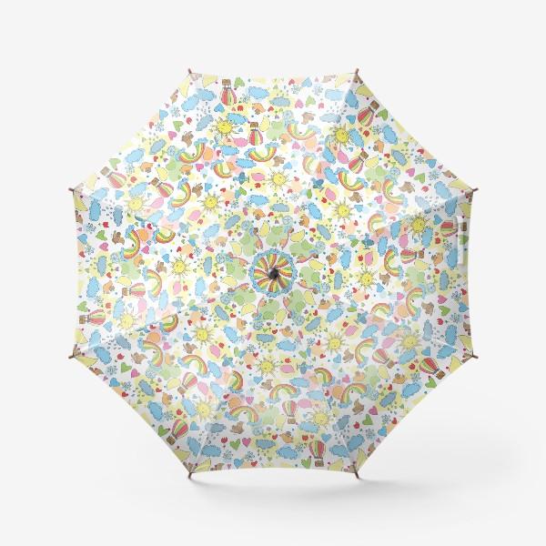 Зонт «Летний паттерн»