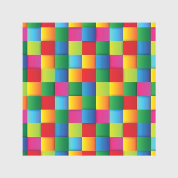 Скатерть «Яркие квадраты»
