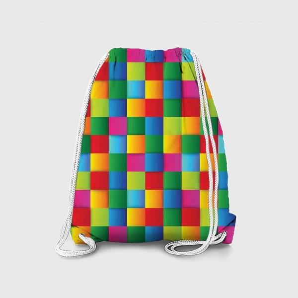Рюкзак «Яркие квадраты»