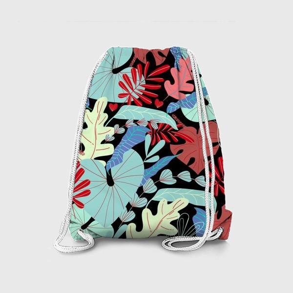 Рюкзак «тропические листья»