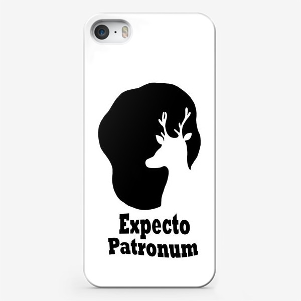 Чехол iPhone «Экспекто Патронум. Гарри Поттер»