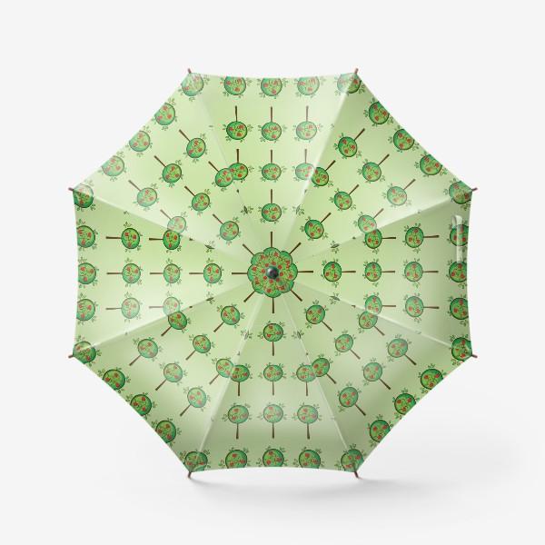 Зонт «Яблочный сад»