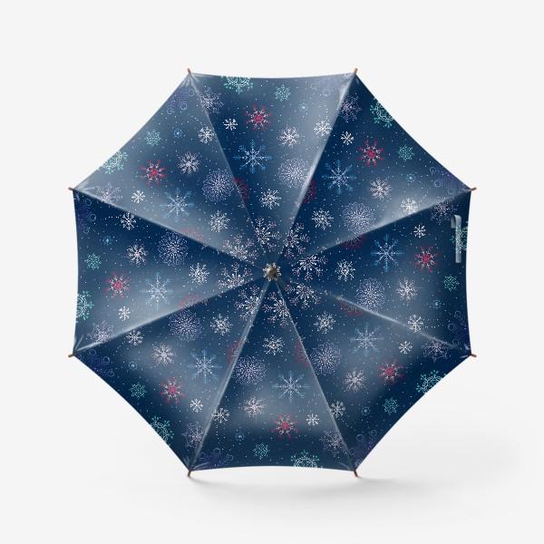 Зонт «Снежинки»
