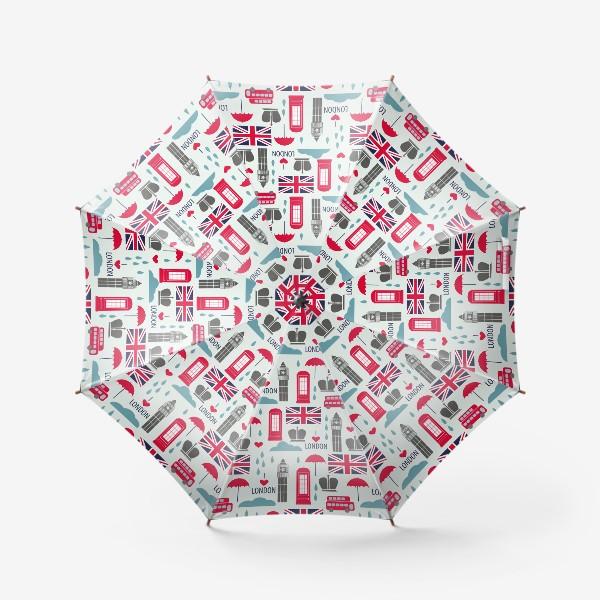 Зонт «Паттерн Англия»