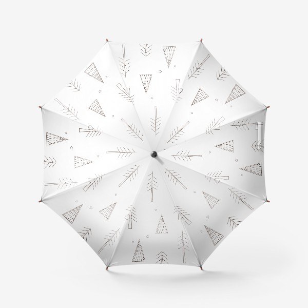 Зонт «ёлочки в лесу»