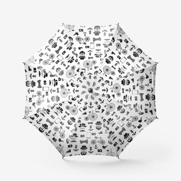 Зонт «Хипстер-стайл»