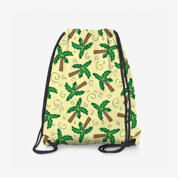 Рюкзак «Пальмы»