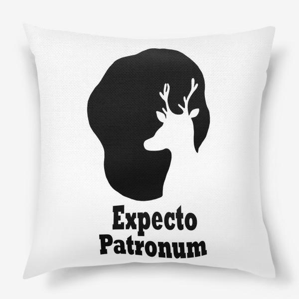 Подушка «Экспекто Патронум. Гарри Поттер»