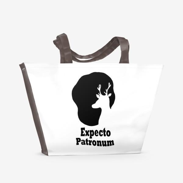 Пляжная сумка «Экспекто Патронум. Гарри Поттер»