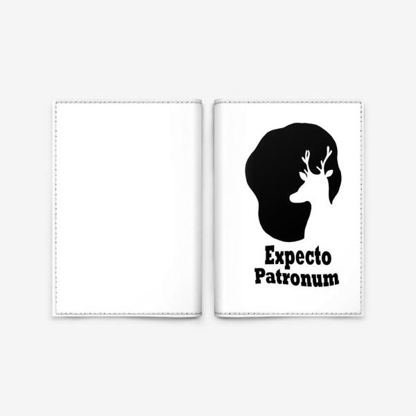 Обложка для паспорта «Экспекто Патронум. Гарри Поттер»