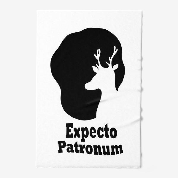 Полотенце «Экспекто Патронум. Гарри Поттер»
