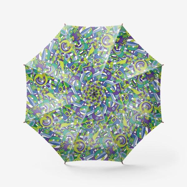 Зонт «Подводный мир. Паттерн»