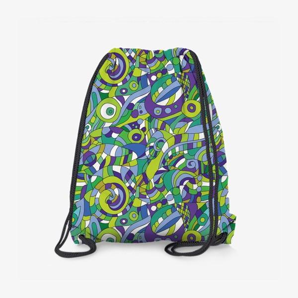 Рюкзак «Подводный мир. Паттерн»