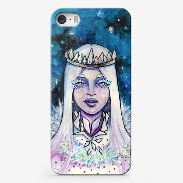 Чехол iPhone «Снежная королева»